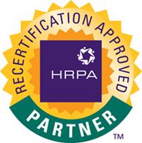 HRPA partnet - Recertification approved