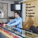 English Language Institute - front desk
