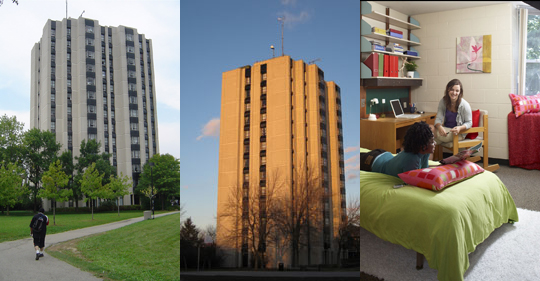 Residences - York University campus