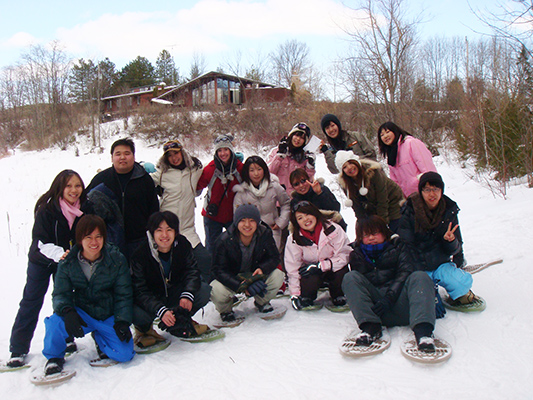 YUELI students in a winter trip