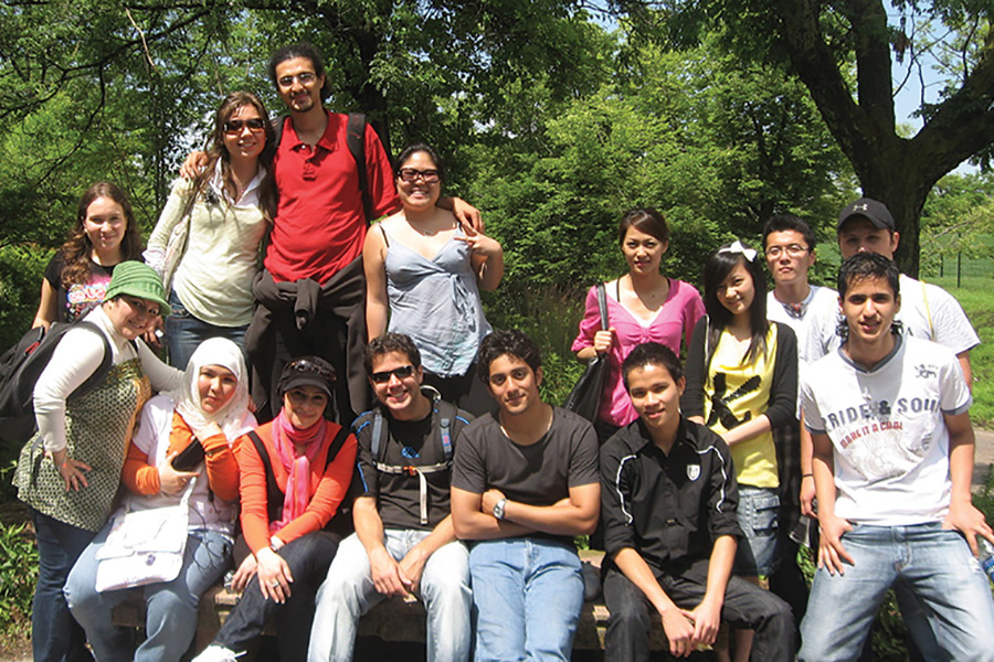 YUELI students on a summer day trip