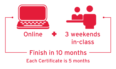 Cyber Security Program Delivery: online + 3 weekends on-site