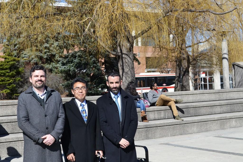 Delegation from Kyoei University visits the York University English Language Institute