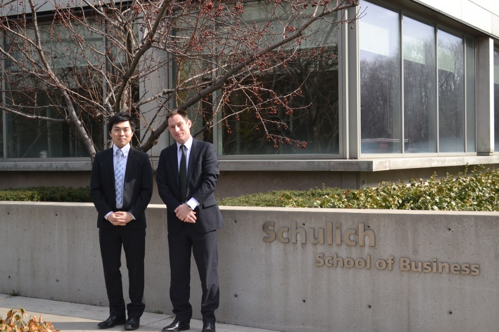 Delegation from School of Commerce at Meiji University visit the York University English Language Institute