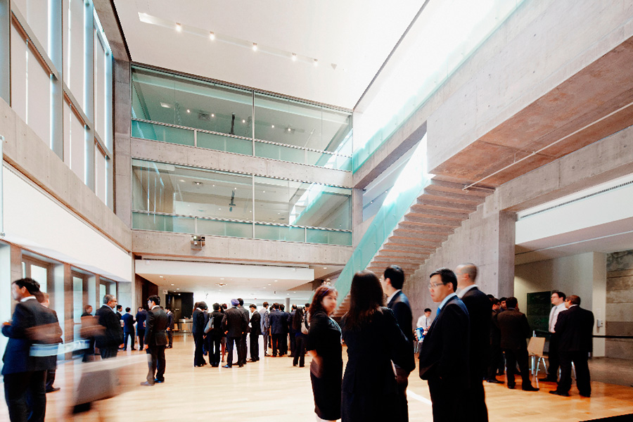 Event in the Schulich School of Business atrium