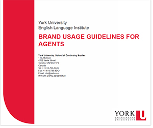 Brand usage guidelines for agents