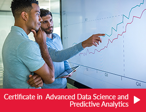 Certificate in Advanced Data Science and Predictive Analytics