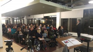 Audience in the inaugural session of the Career Growth series presented by the School of Continuing Studies