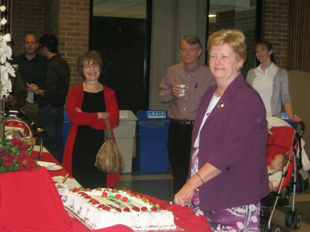 Adele Minoli, employee of York University for 47 years