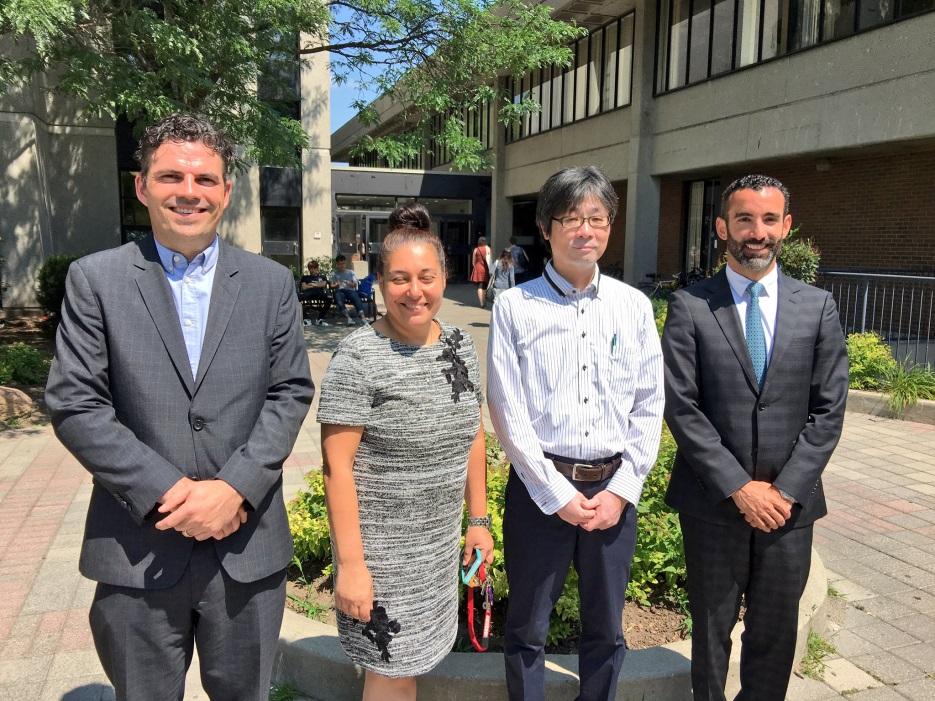 Kobe College visits YUELI