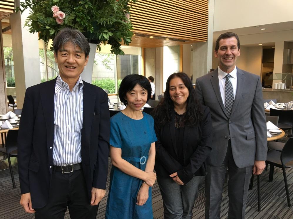 Kyoei University visits YUELI