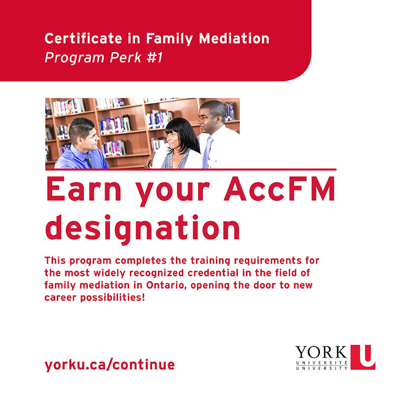 Earn your AccFM designation
