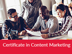 Certificate in Content Marketing
