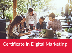 Certificate in Digital Marketing