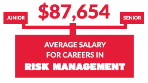 Average salary for careers in Risk Management