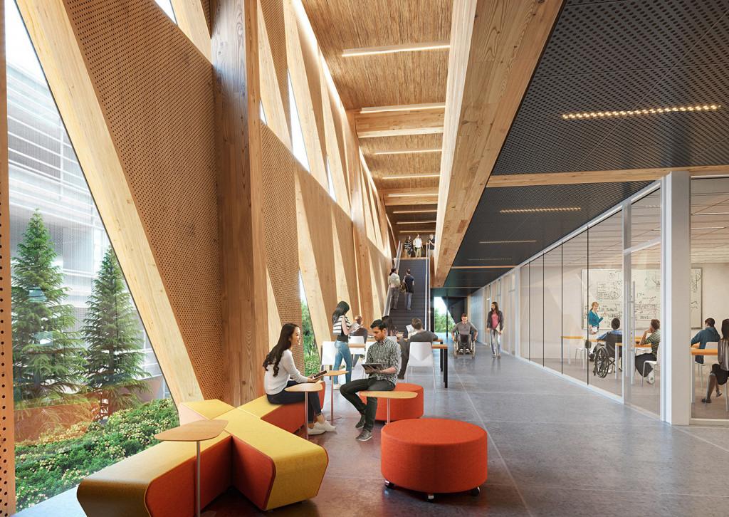 New Building Interior