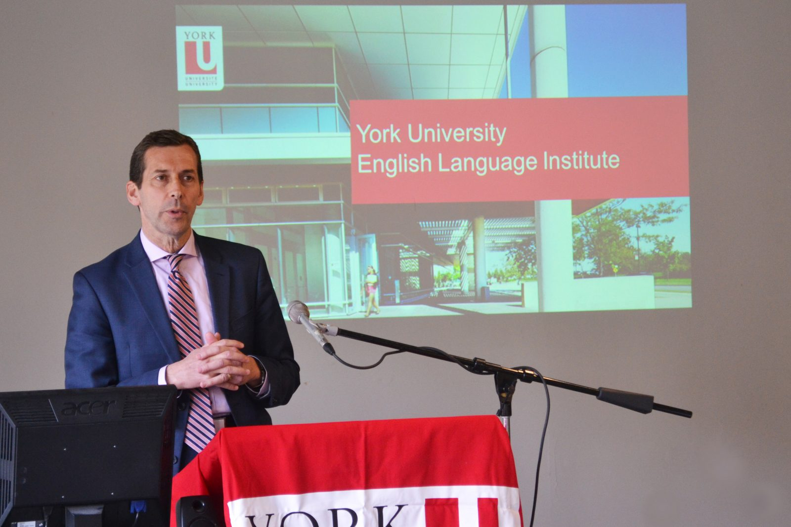 Associate Director, Special Programs, Michael Twohey provides an overview of YUELI to the international agents