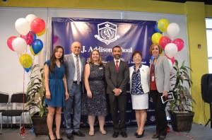 J.Addison School and York University partnership scholarship ceremony (May 2017)