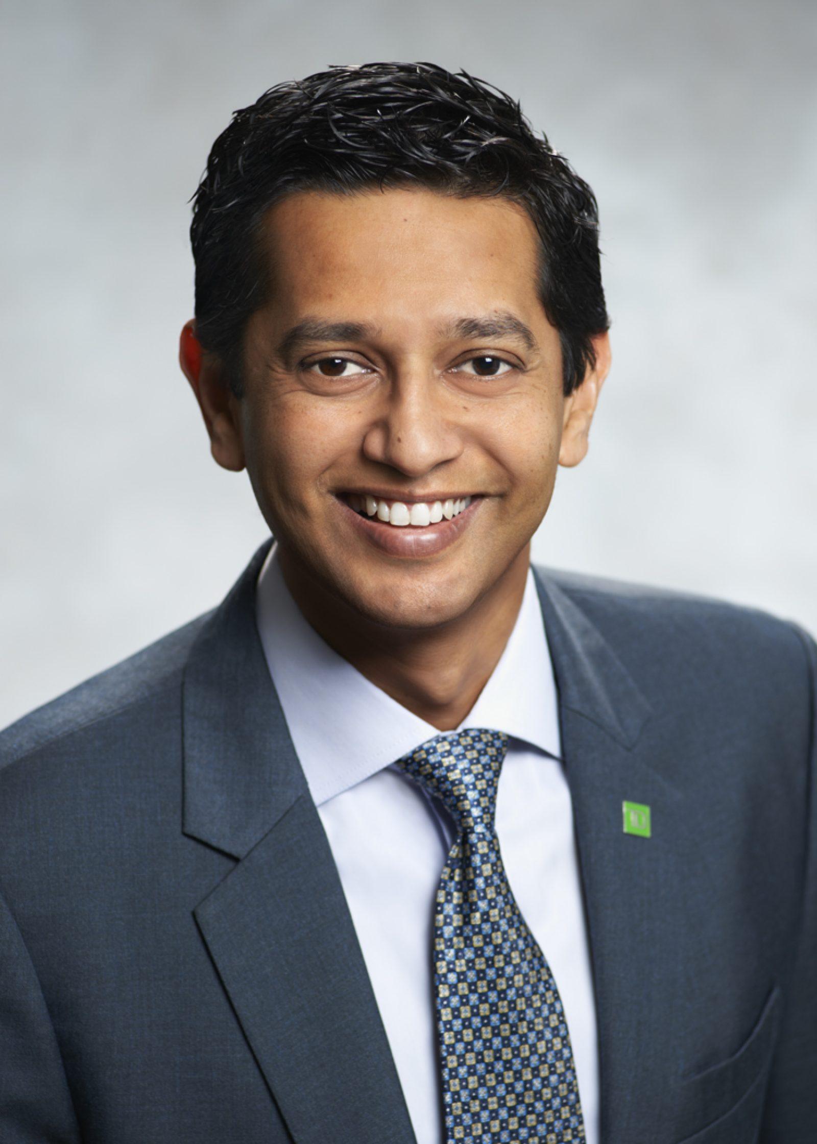 Dinesh Garbharran, Interim CRO, TD Insurance & VP, Risk Management, TD Bank (Advisory Council Member for the Certificate in Risk Management)