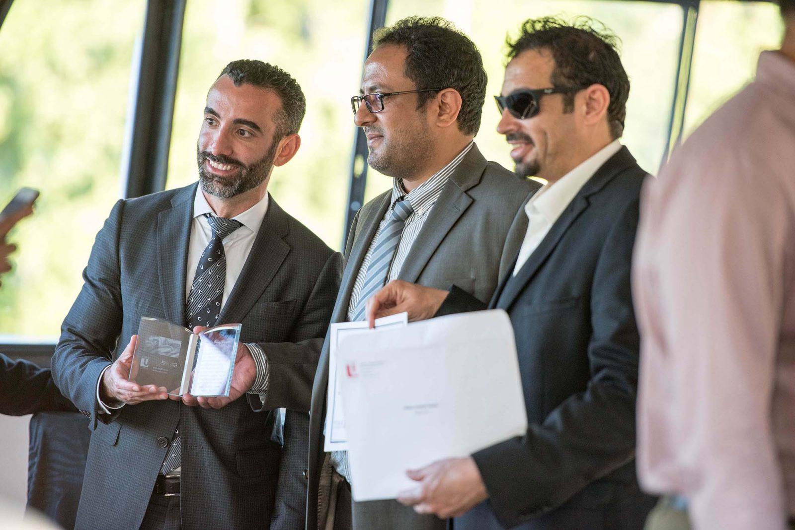 Saudi educators with YUELI Director