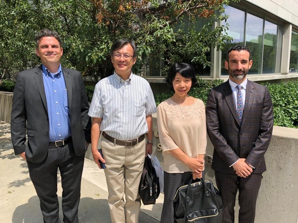 YUELI senior leaders and professors from Osaka University of Economics