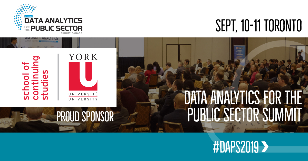 Data for the Public Sector Summit 2019
