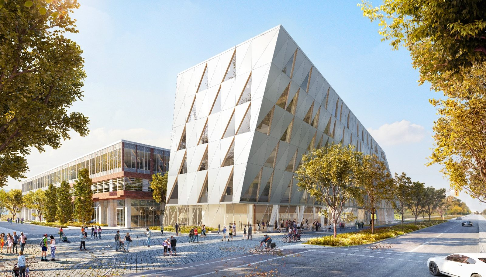York University School of Continuing Studies New Building