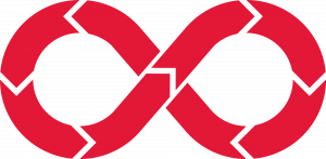 DevOps Red Infinity Symbol