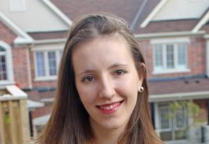 2016 Qian Liu Scholarship recipient Valeria Ricci