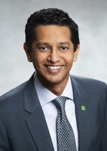 Dinesh Garbharran, Interim CRO, TD Insurance & VP, Risk Management, TD Bank (Advisory Council Member for the Certificate in Risk Management)