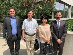 YUELI senior leaders and professors from Osaka University of Economics
